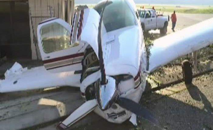 В Калифорнии разбился легкий самолет
