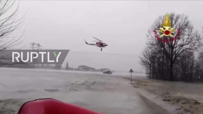 Италия наводнения