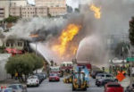 Калифорния взрыв