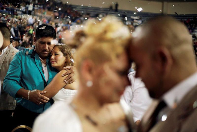 Массовая свадебная церемония