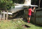 Небольшой самолет упал