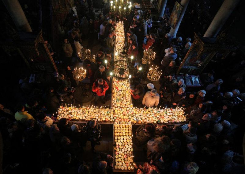 Огненный медовый крест