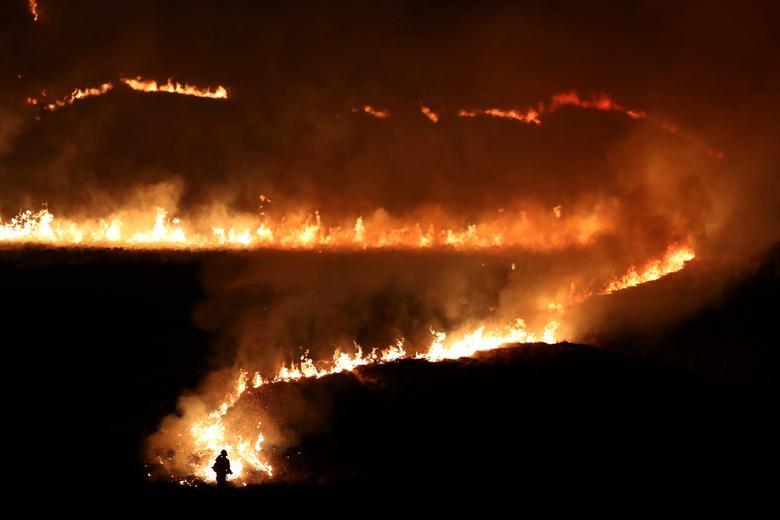 Пожар на Саддлворт Мур