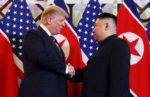 Президент Дональд Трамп и лидер Северной Кореи Ким Чен Ын