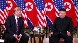 Трамп и Ким Чен Ын