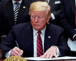 Трамп подписал