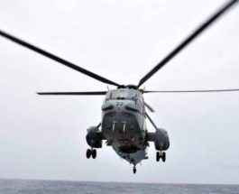 вертолет с министром