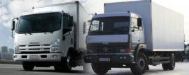 грузовые машины