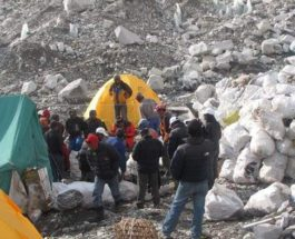 мусор Эверест