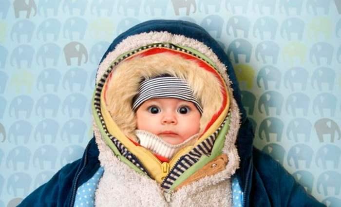 одевать ребенка зимой