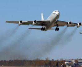 разведывательный полет над Россией