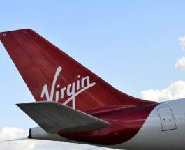самолет Virgin