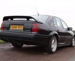 Vauxhall Lotus,седан,самый мощный седан,Lotus Omega