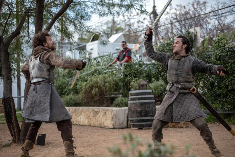 Актеры изображают персонажей из Игры престолов