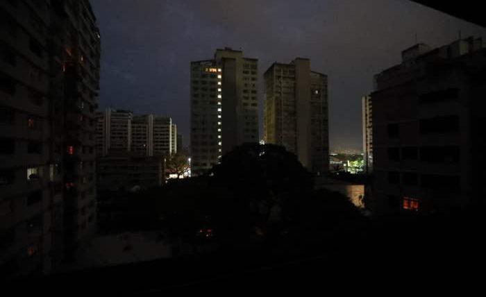 Венесуэла во тьме