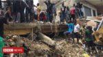 Жилой дом рухнул в Нигерии