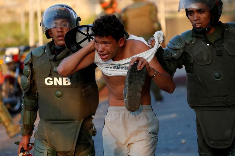 Мужчина был арестован силами безопасности