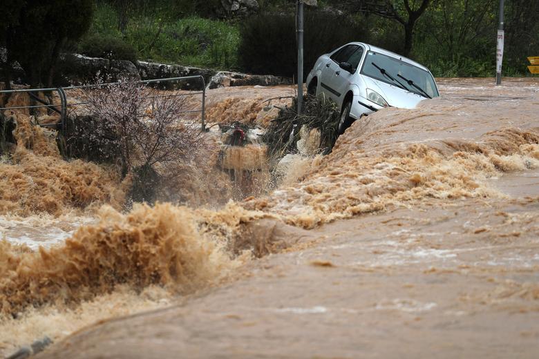 Наводнение Иерусалим