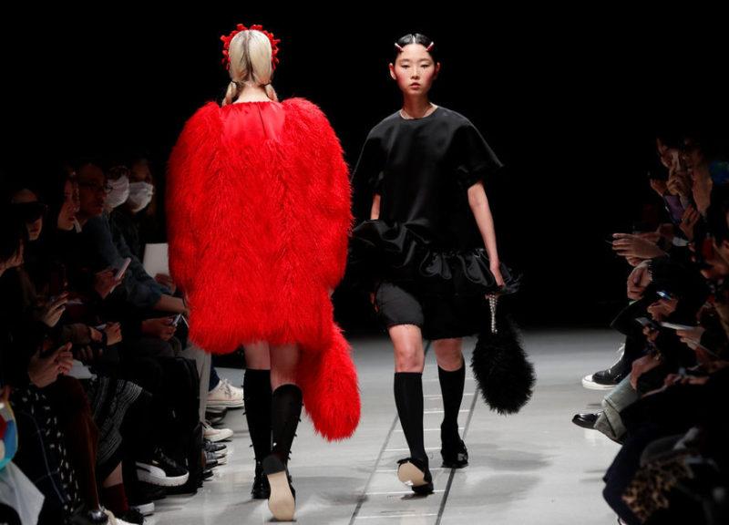 Недели моды в Токио