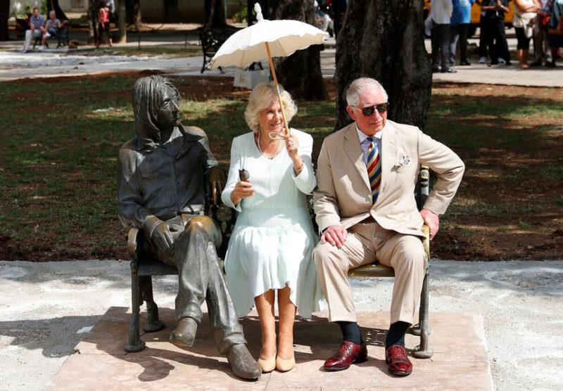 Принц Чарльз и его жена Камилла