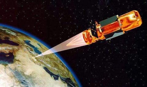 США космос лазерное оружие