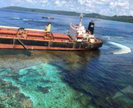 Соломоновы острова разлив нефти