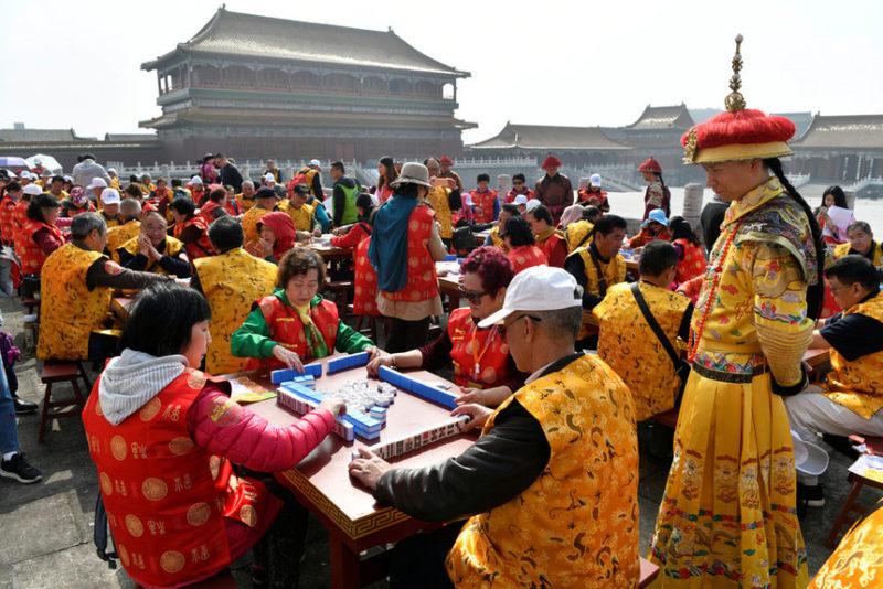 Соревнования по маджонгу
