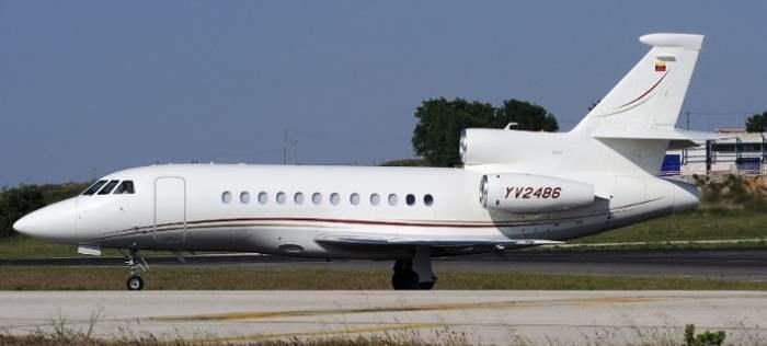 Таинственный венесуэльский самолет приземлился в Афинах