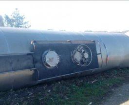 Франция поезд сошел с рель