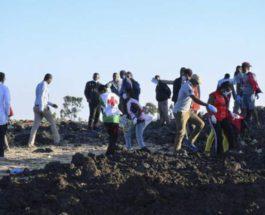 Эфиопия самолет разбился