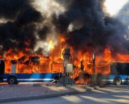 автобус Стокгольм