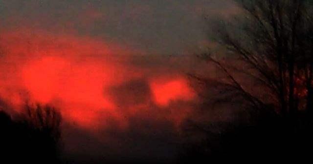 аномалия в небе