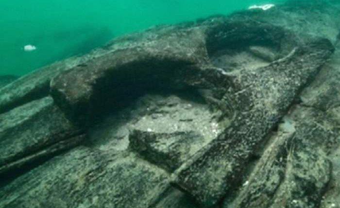 древнее судно