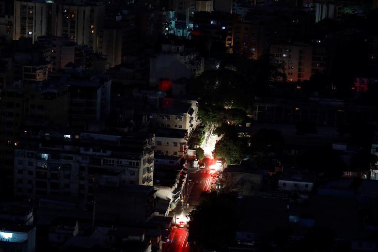 отключения электроэнергии в Каракасе