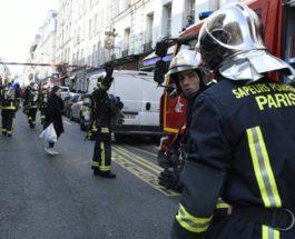 пожар в Париже