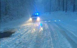 румыния снег
