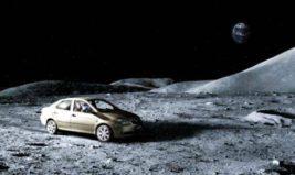 тойота на луне