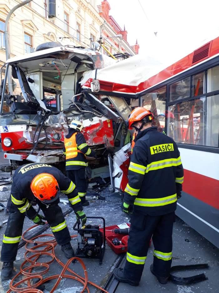 Авария в Чехии