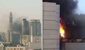 Бангкок пожар