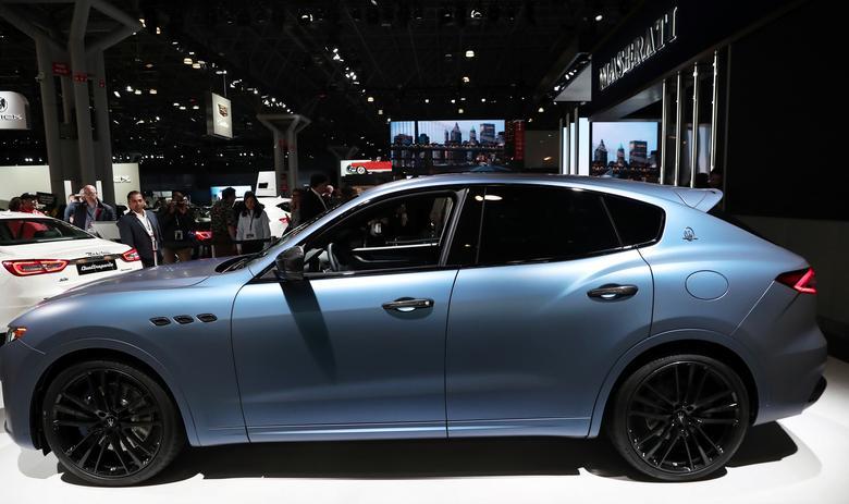 Внедорожник Maserati Levante.