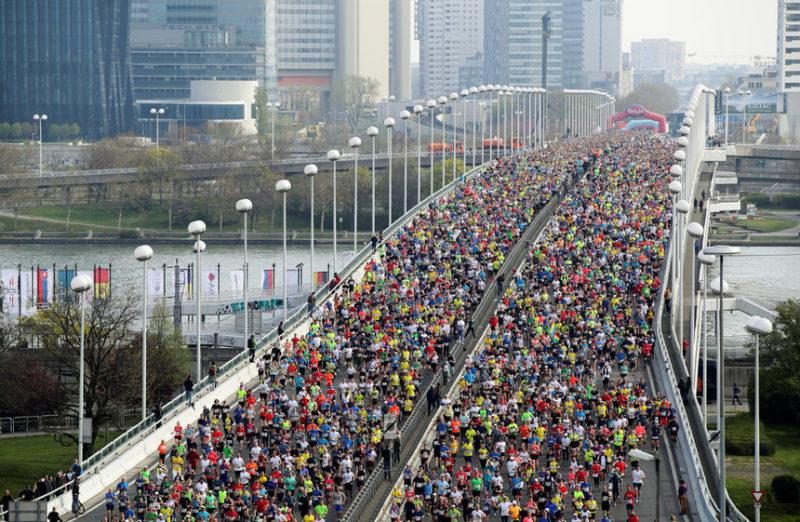 Ежегодный марафон в Вене