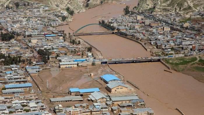 Иран наводнение