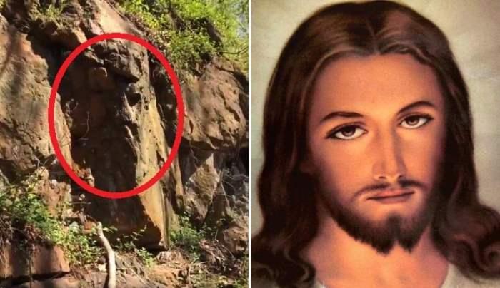 Камень лицо Христа
