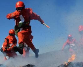 Китай пожарные