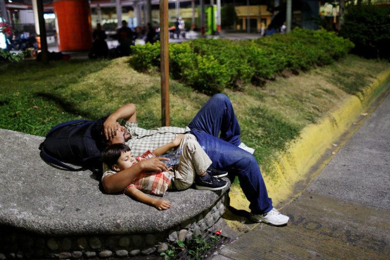 Мигранты из Центральной Америки