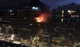 Париж взрыв