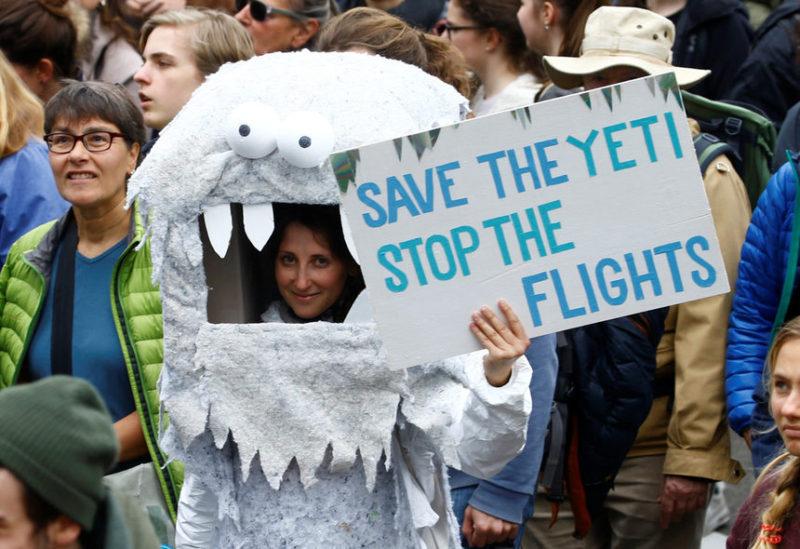 Протест против изменения климата