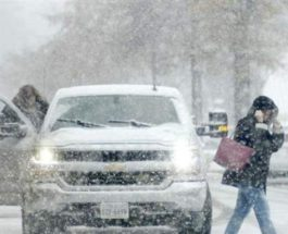 США снежная буря