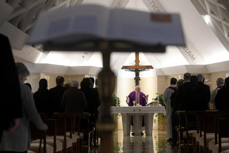 Служба Папы Франциска