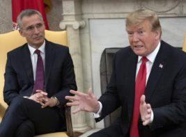 Столтенберг и Трамп